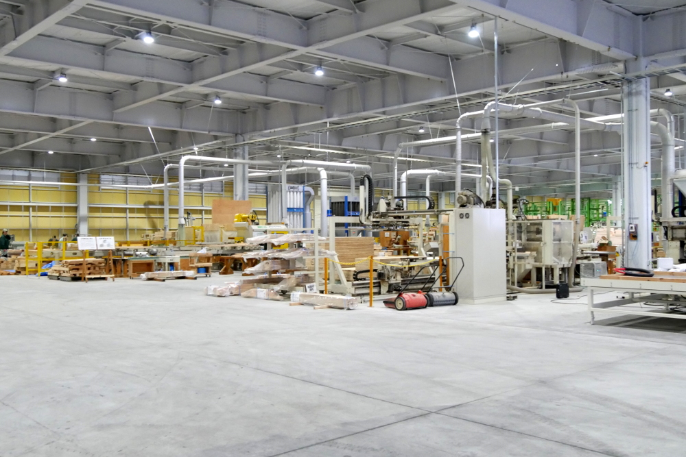 ウッドリンクの新パネル工場引きの写真2
