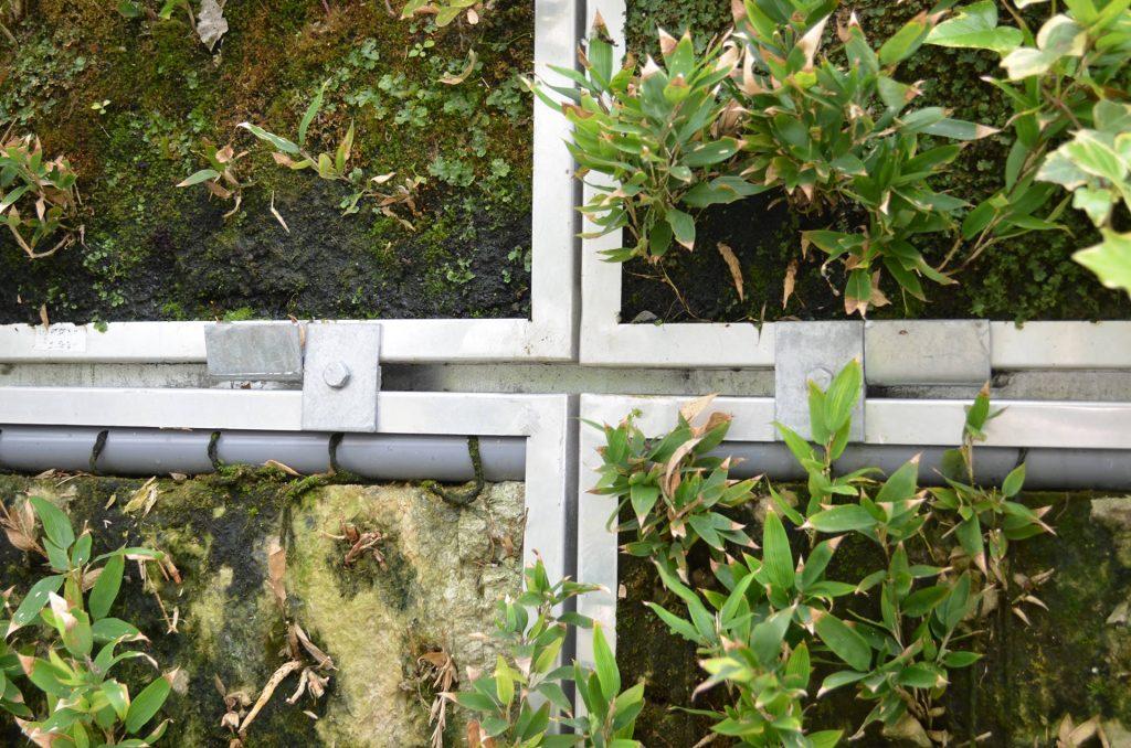 壁面緑化システム : パネル分離型で個別交換できる (2)