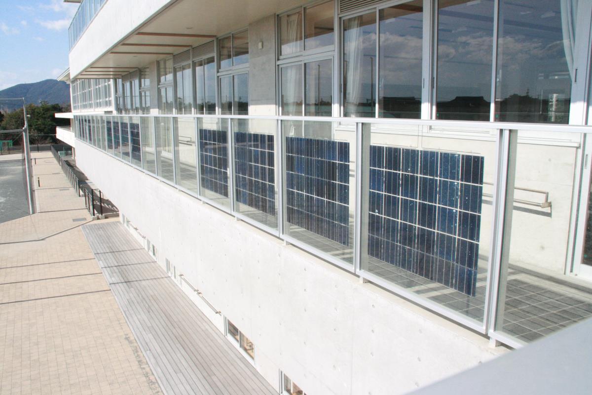 「SoR-E」の施工事例 : 赤羽根中学校 (2)
