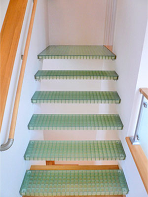 ラグラーチェ 階段に使った施工例