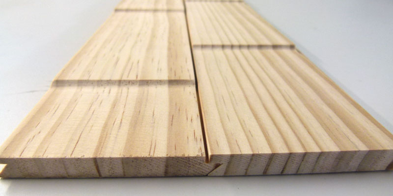 デザインウォールサンプル 竹斜めから