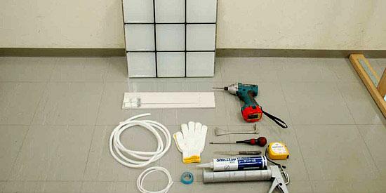 ハウスパネル 施工方法2