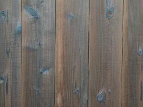 焼杉板 磨き