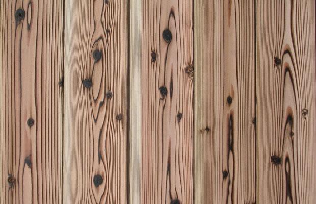 焼杉板 浮造り