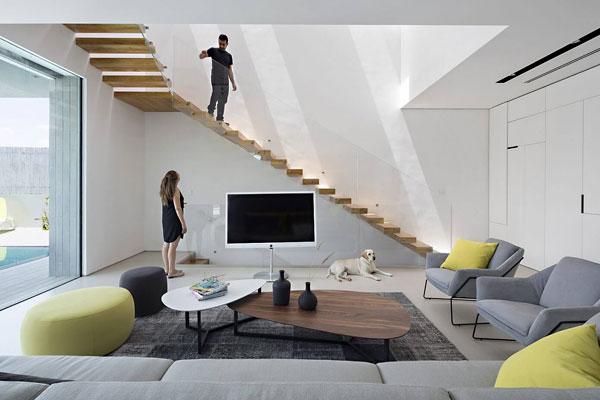 リビング階段の施工例19