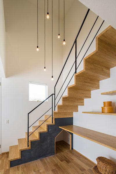 リビング階段の施工例10