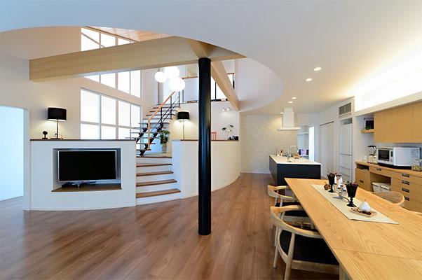 リビング階段の施工例11