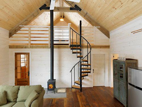 リビング階段の施工例14