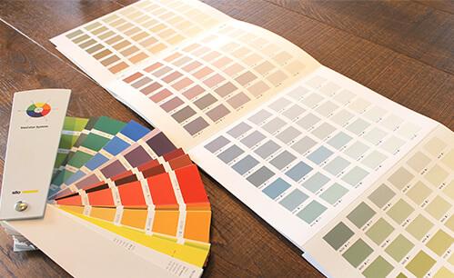 ③Stoのカラーは900色もある