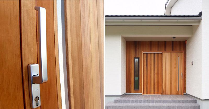 大和屋木製玄関引戸