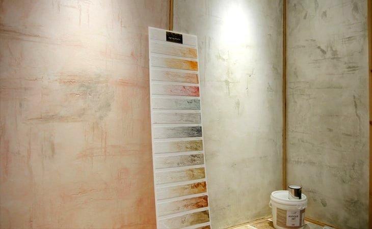 塗り壁材「DiyArt」のアンティークアート