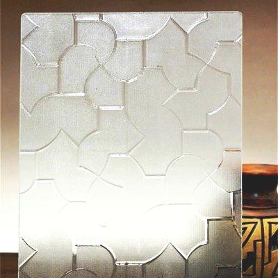 昭和型板ガラス「からたち」