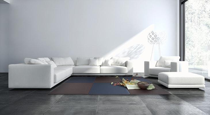 洋室にも合う畳、MIGUSA特集