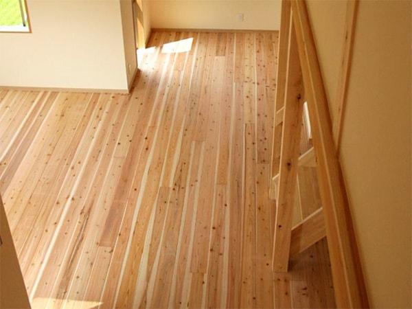 徳島杉を使った室内
