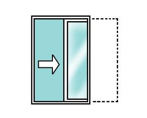 引き込み窓