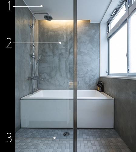 建材データ「アンプラン」浴室