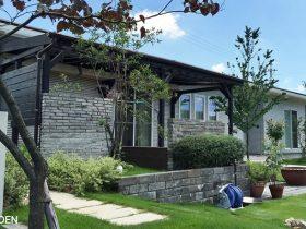 【STONE:#05】石材をもっと身近に。ワンポイント使用で個性的な家を作ろう!