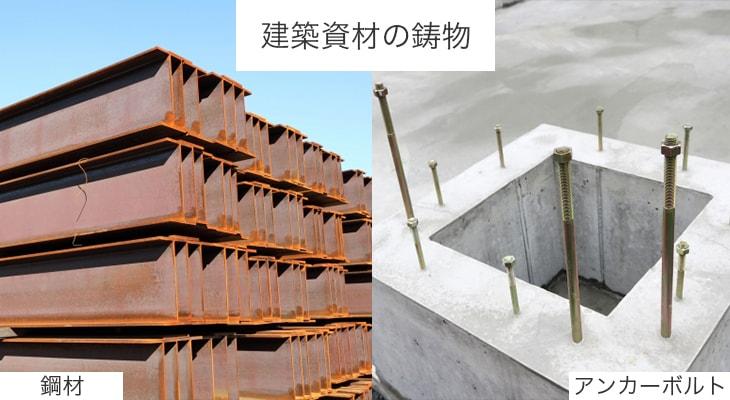 建築資材の鋳物