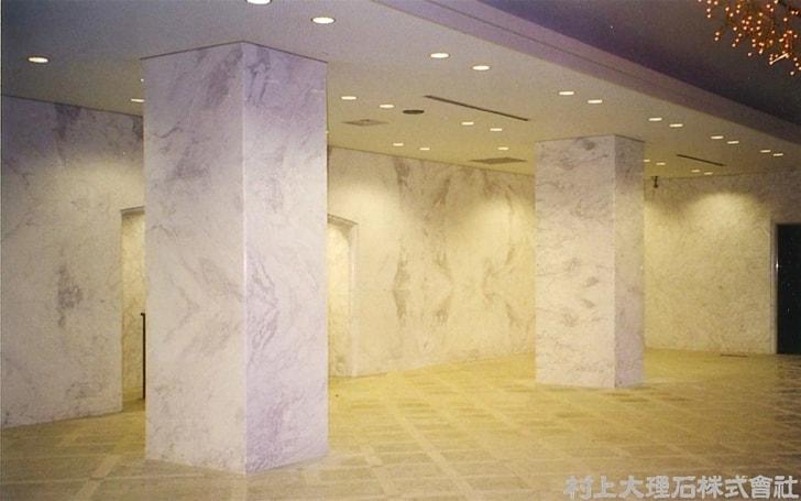 大理石のオフィス内壁-min
