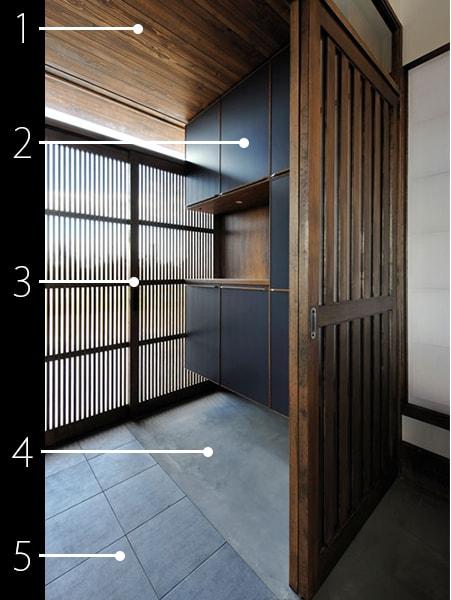 玄関の建材データ