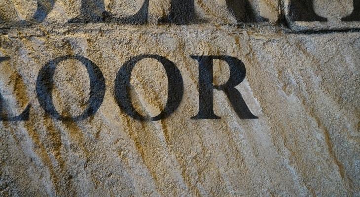 デザインコンクリートで表現する砂岩の外壁