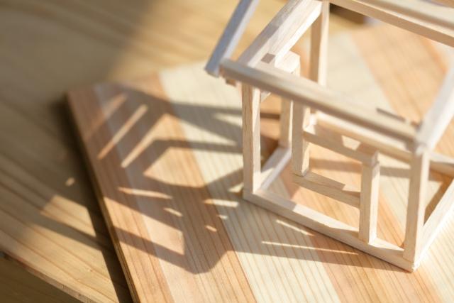 Laminated wood