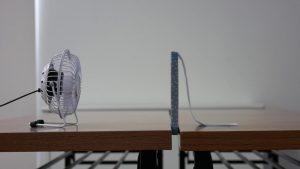 「クロスキャビン®」の通気性実験