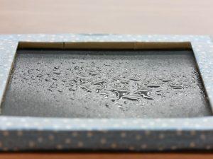 「クロスキャビン®」の水の通しやすさの実験 (1)
