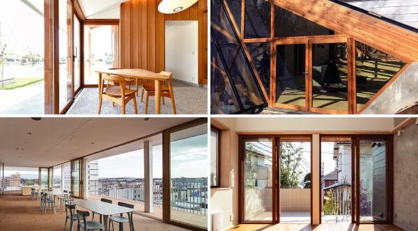 低炭素住宅を目指すなら知っておきたい。著名建築家が使用した木製サッシを比較で紹介